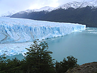 Pared Norte del Glaciar